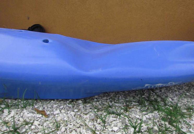 dented kayak repair